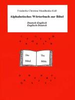 Alphabetisches Wörterbuch zur Bibel