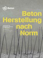 Beton - Herstellung nach Norm
