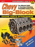 Chevy Big-Block Engine Parts Interchange