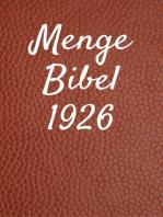 Menge Bibel 1926
