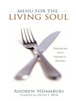 Menu for the Living Soul