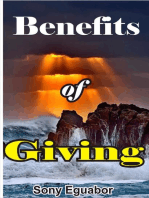 Benefits of Giving