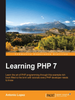 Learning PHP 7