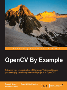 OpenCV By Example by Joshi Prateek, Escrivá David Millán, and Godoy  Vinícius - Read Online