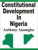 Constitutional Development in Nigeria