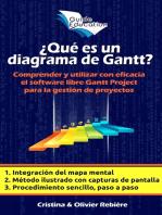 """¿Qué es un diagrama de Gantt?: Comprender y utilizar con eficacia el software libre """"Gantt Project"""" para la gestión de proyectos educativos"""