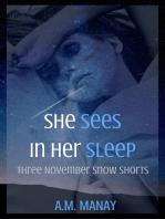 She Sees in Her Sleep (Three November Snow Shorts)