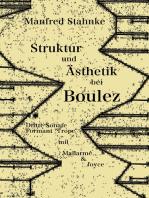 Struktur und Ästhetik bei Boulez