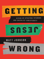 Getting Jesus Wrong