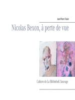 Nicolas Bexon, à perte de vue