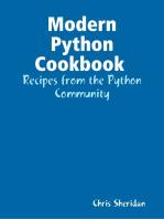 Modern Python Cookbook