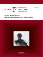 frauen macht musik. Maria Theresia zum 300. Geburtstag