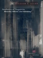 Aesthetics of Negativity