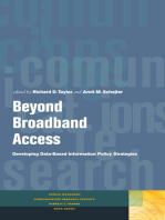 Beyond Broadband Access: Developing Data-Based Information Policy Strategies