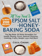 All You Need is Epsom Salt, Honey And Baking Soda