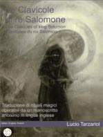 The Clavicles of king Solomon - Le Clavicole di re Salomone