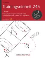 Reaktionstraining mit sich ändernden Anforderungen für Aktion und Folgeaktion (TE 245)