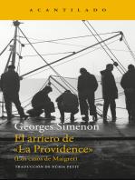 """El arriero de """"La Providence"""": (Los casos de Maigret)"""