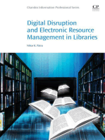 Digital Disruption and Electronic Resource Management in Libraries