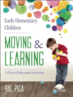 Early Elementary Children Moving and Learning