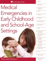 Medical Emergencies in Early Childhood and School-Age Settings