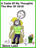 A Taste Of My Thoughts The War Of 2018