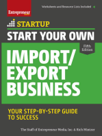 Start Your Own Import/Export Business