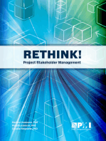 Rethink! Project Stakeholder Management
