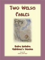 TWO WELSH FABLES - The Fable Of Gwrgan Farfdrwch and The Story Of The Pig-Trough