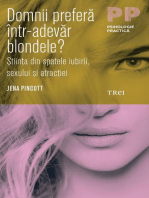 Domnii preferă într-adevăr blondele? Știința din spatele iubirii, sexului și atracției