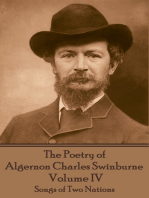 The Poetry of Algernon Charles Swinburne - Volume IV