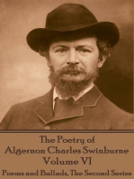 The Poetry of Algernon Charles Swinburne - Volume VI