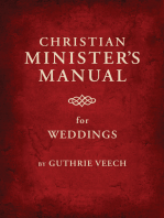 Christian Minister's Manual for Weddings