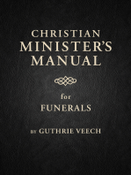 Christian Minister's Manual for Funerals