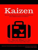 Kaizen: How to use Kaizen for Increased Profitability and Organizational Excellence.: Business Process Management and Continuous Improvement Executive Guide series, #6