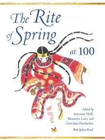 The rites of spring book