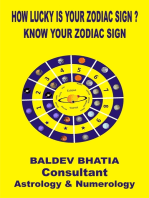 How Lucky Is Your Zodiac Sign