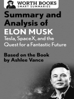 Summary and Analysis of Elon Musk