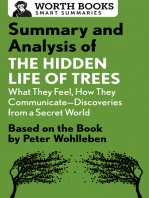 Summary and Analysis of The Hidden Life of Trees: What They Feel, How They Communicate—Discoveries from a Secret World: Based on the Book by Peter Wohlleben