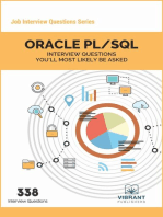 ORACLE PL/SQL Interview Questions You'll Most Likely Be Asked