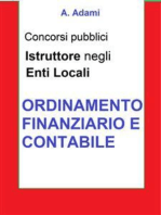 Ordinamento finanziario e contabile - Concorso Istruttore Enti locali