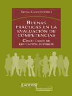 Buenas prácticas en la evaluación de competencias: Cinco casos de educación superior
