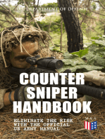 Counter Sniper Handbook - Eliminate the Risk with the Official US Army Manual