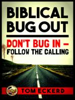 Biblical Bug Out