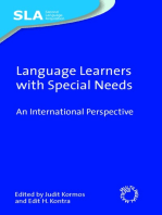 Language Learners with Special Needs