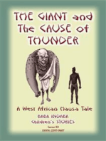 THE GIANT AND THE CAUSE OF THUNDER - A West African Hausa tale