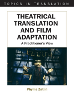 Theatrical Translation and Film Adaptation: A Practitioner's View