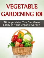 Vegetable Gardening 101: 20 Vegetables You Can Grow Easily in Your Organic Garden