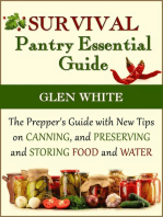 Survival Pantry Essential Guide