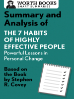Summary and Analysis of 7 Habits of Highly Effective People
